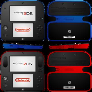 Nintendo 2DS Redesign by Yamitora1
