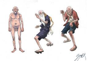 Senior ninjas by MikkelSommer