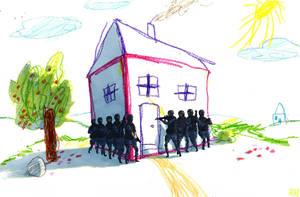 crayon drug raid by MikkelSommer