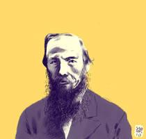 Dostoyevsky by MikkelSommer