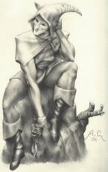 The Jester by the-hurukai