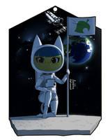 Ankha the astronaut by Akkarawit911