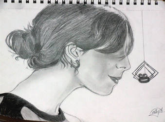 hair sketch by axiHulya