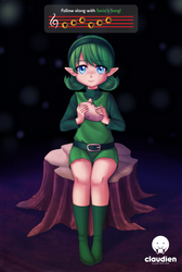 Follow along with Saria's song! by TheClaudien