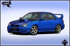 Subaru Impreza STI t00n by BGGaLaXy