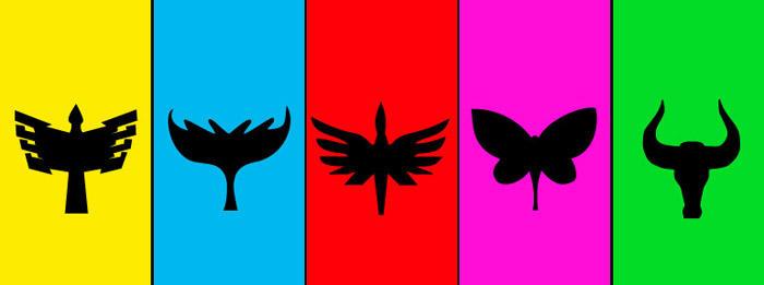 Magiranger Emblems by Domafox