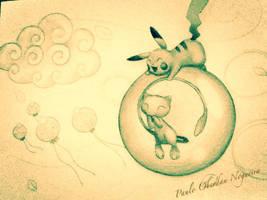 Mew's way to have fun! by paulooberdan