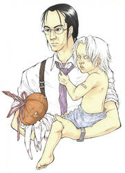 Father and Son by munashiibennu