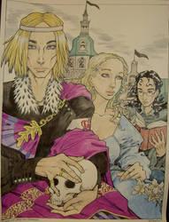 Hamlet frontpiece by munashiibennu