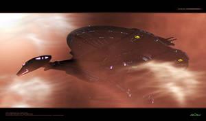 USS Shenzhou by Animaniacarts