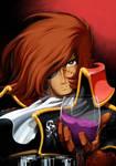 My hero Captain Harlock by Tcosma