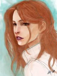 Redhead girl by PhanatPak