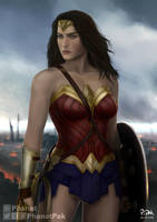Wonder Woman by PhanatPak
