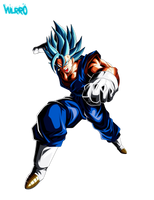 Vegetto Super Saiyajin Blue by Vulrro