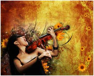 Violin by Dandelion-lion