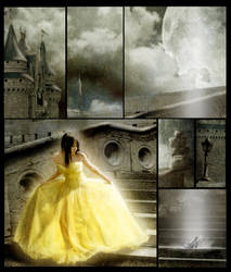 Cinderella details by Dandelion-lion