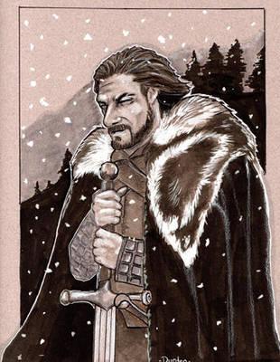 Game of Thrones Eddard Stark by jdurden44