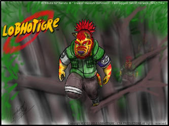 Tribute to Naruto by Lobhotigre