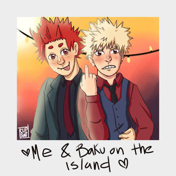 Kiribaku Suits Instant photo by cuppaint