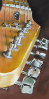 Guitar Head by fourquods