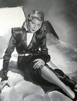 Lauren Bacall by fourquods
