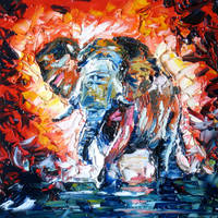 Elephant by fourquods