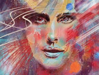 Jackie Rainbow by fourquods