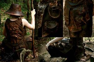 Leather Armor - Detail by Lynfir