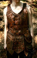 Leather Armor - Front by Lynfir