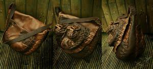 Leather Bag by Lynfir