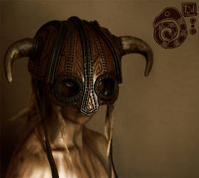 Horned Helmet by Lynfir