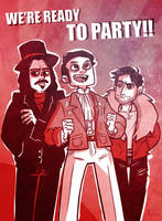 What We Do In The Shadows - Partypires by mct421