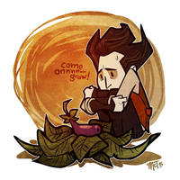 Don't Starve, Wilson by mct421