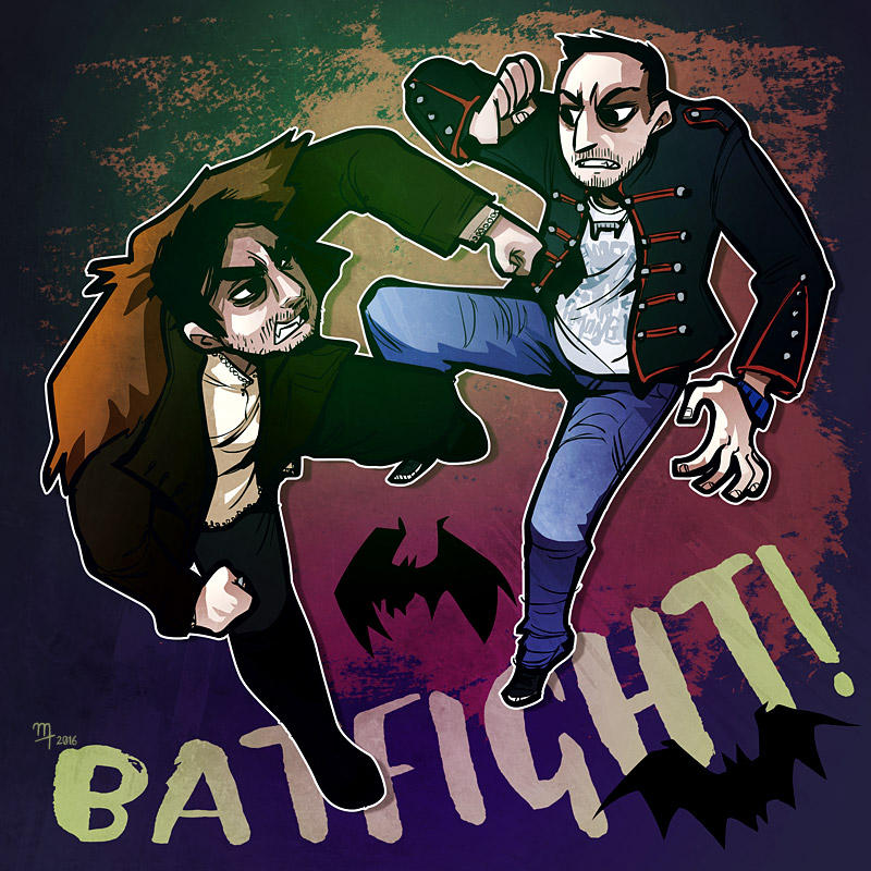 WWDITS - BATFIGHT! by mct421