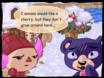 Animal Crossing - Cherries by mct421