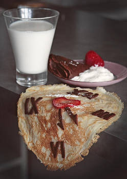 Salvador's breakfast by WildOrchidRain