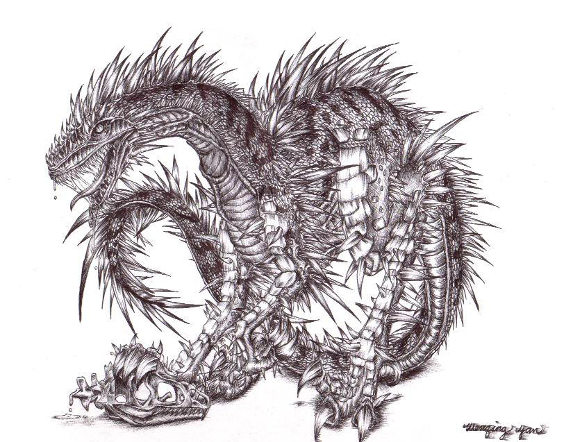 my evil dragon devil t...