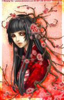 Sakura Maiden by yuumei