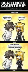 Death Note Courtship by yuumei