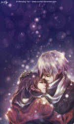 Warmth in the Cold by yuumei