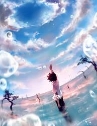 Gaia Vim Naturae: New Sky by yuumei