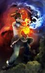 The Legend of Korra by yuumei