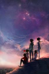 Knite: We Dream by yuumei