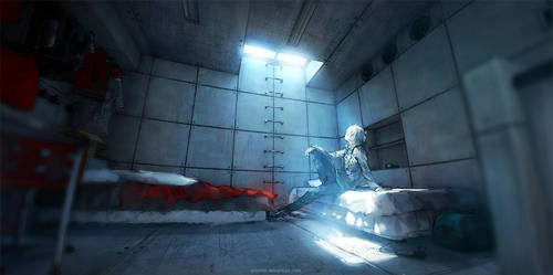 Fisheye Placebo: Introspection by yuumei