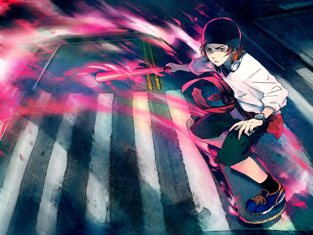Skater Boy by yuumei