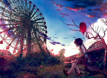 Don't Forget Me by yuumei