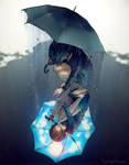 Rain on My Sunshine by yuumei