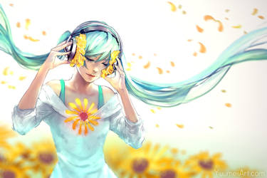 To the Beat Of Sunshine by yuumei