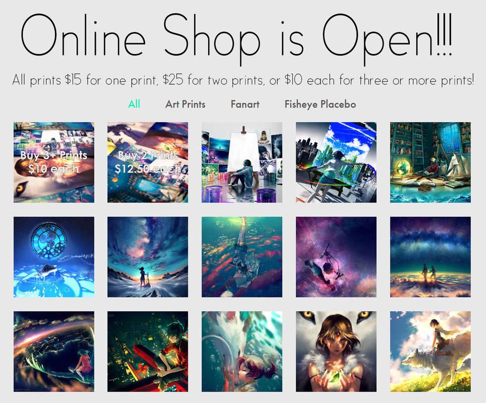 Shop Ad 1 by yuumei
