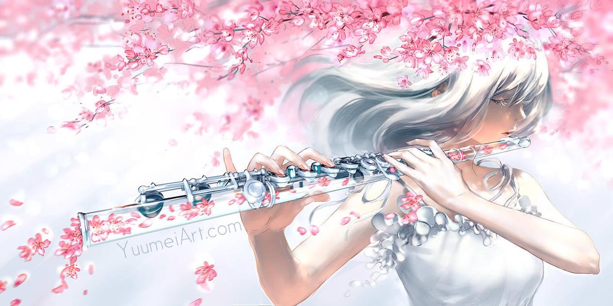 Petals Fall by yuumei